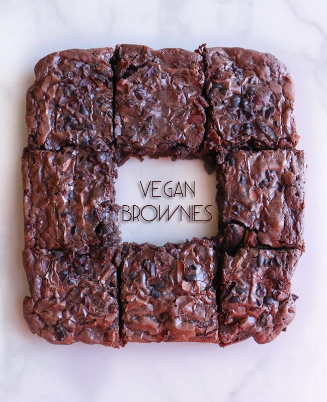Vegan Brownie chokolat pimienta