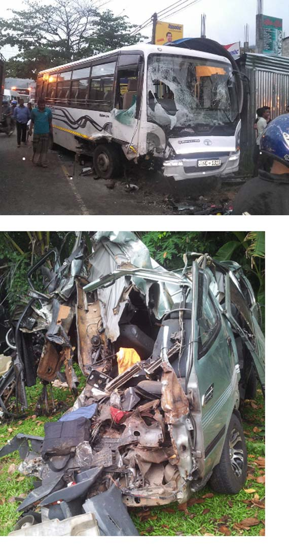 Five, including child, Dead in Warakapola accident