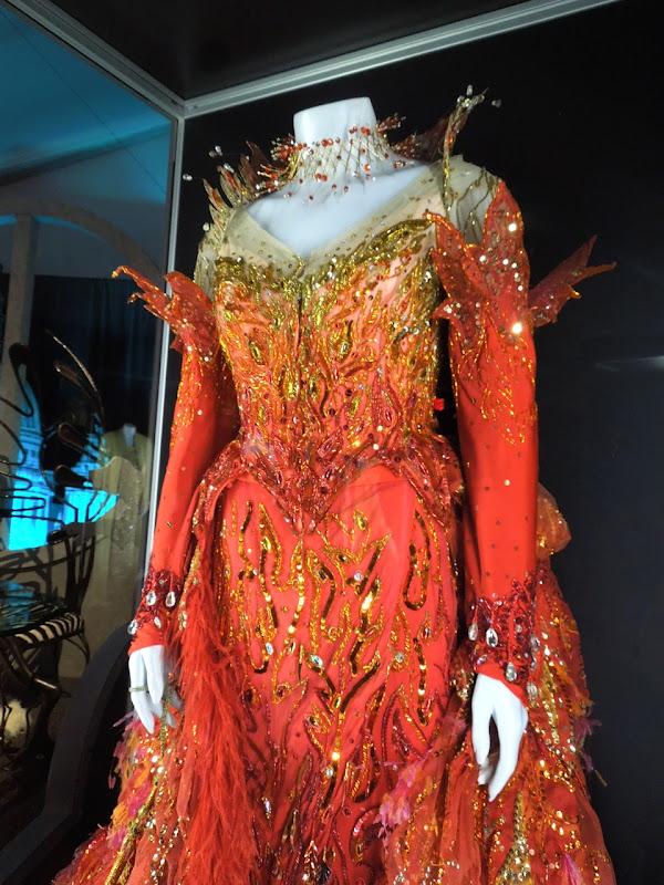 Cruella de Vil flame gown 102 Dalmatians
