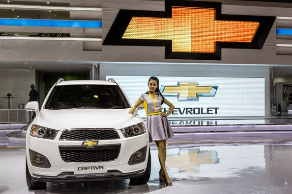 SPG Chevrolet Captiva IIMS 2014