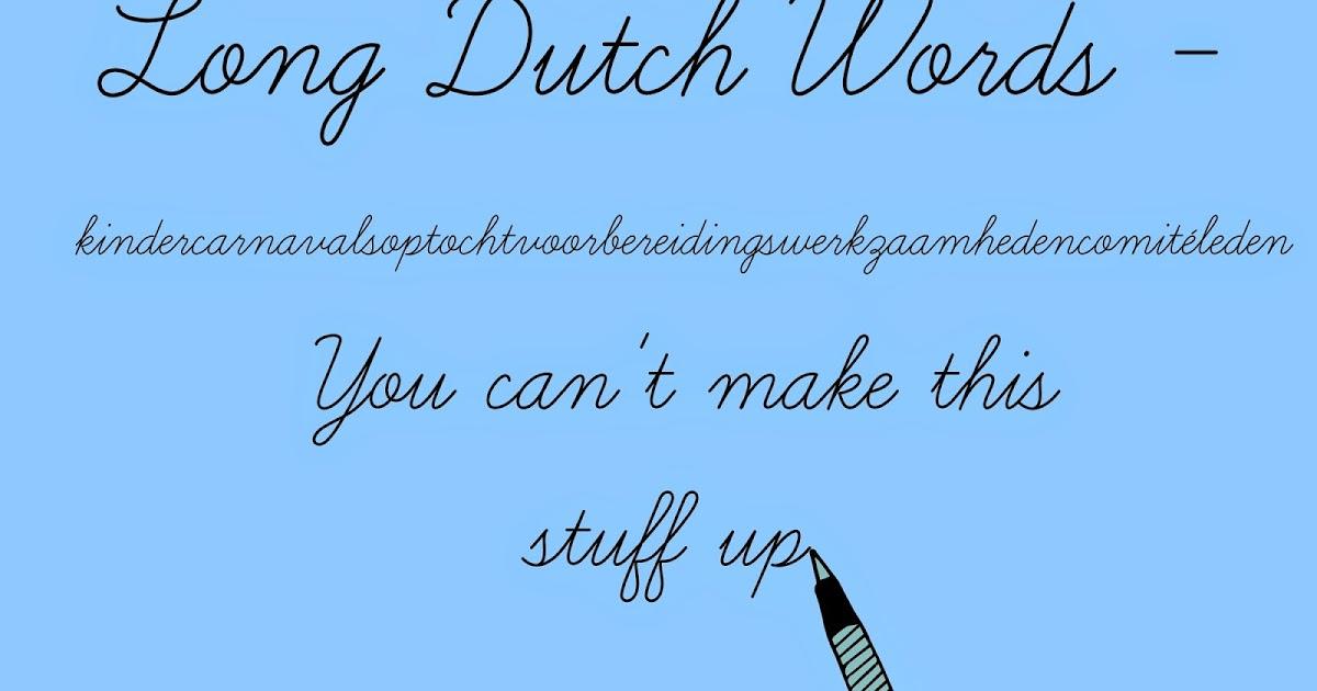 how to say w in dutch learn dutch org