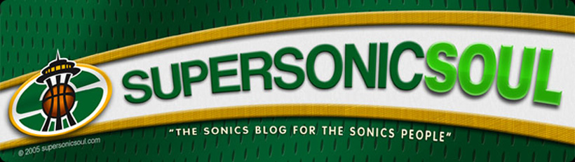 Supersonicsoul - The Sonics Blog!