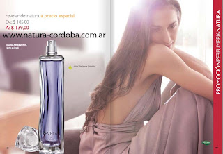 natura revelar perfume