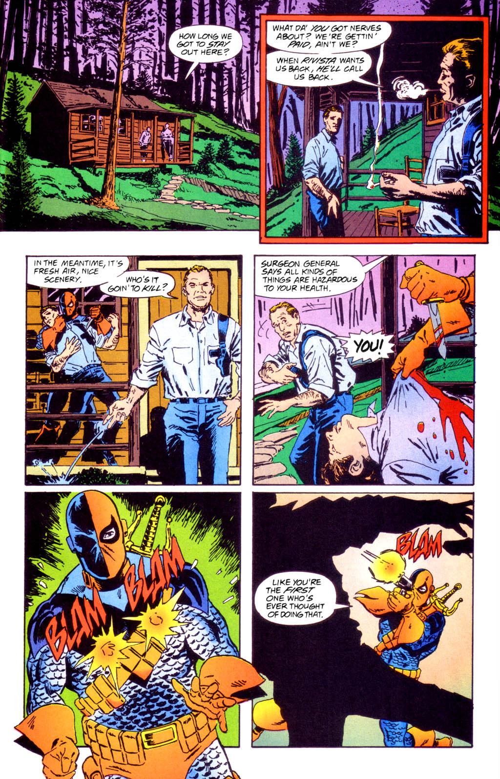 Deathstroke (1991) Issue #40 #45 - English 23