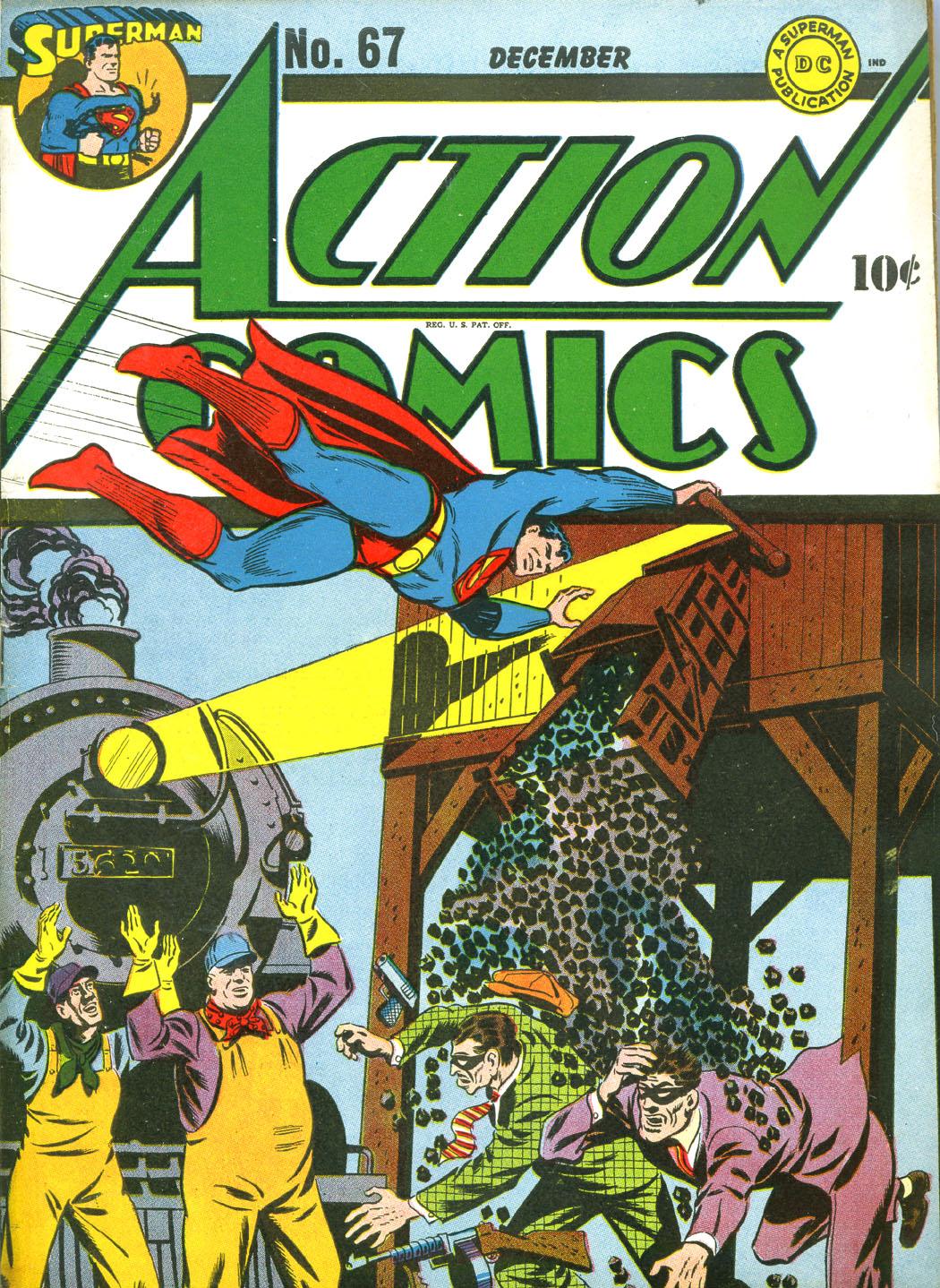 Action Comics (1938) 67 Page 1