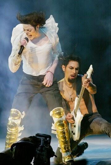 MJ & Dave Navarro