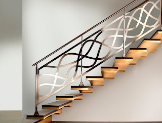 Beautiful Stainless steel handrails