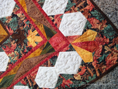 Robin & Keith's Wedding Quilt, corner detail