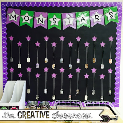 Brag Tag bulletin board display