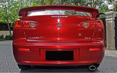Eksterior Mitsubishi Lancer EX 2.0 Indonesia Modifikasi