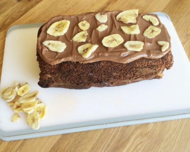 FOOD | CHOCOLATE & BANANA LOAF