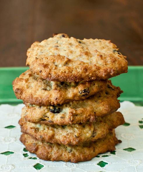 Banana-Oatmeal Power Cookies at Cooking Melangery