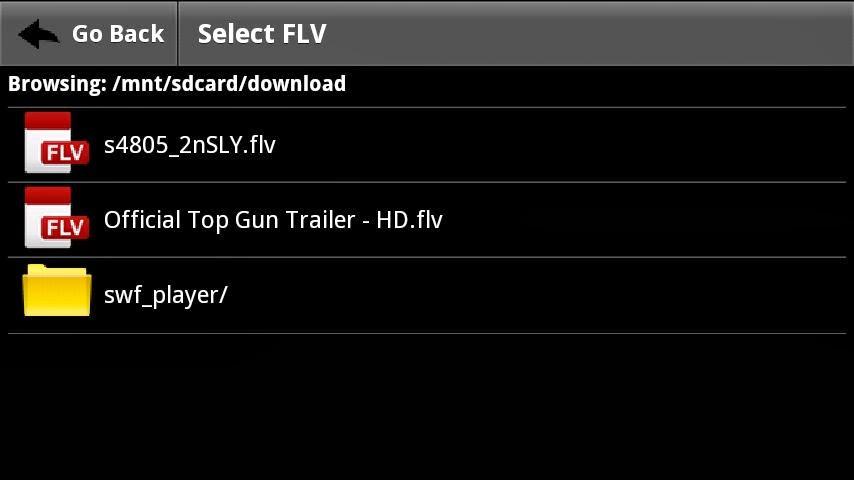 The description of FLV Player