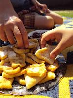 Placuszki z gotowanych ziemniaków dla dzieci