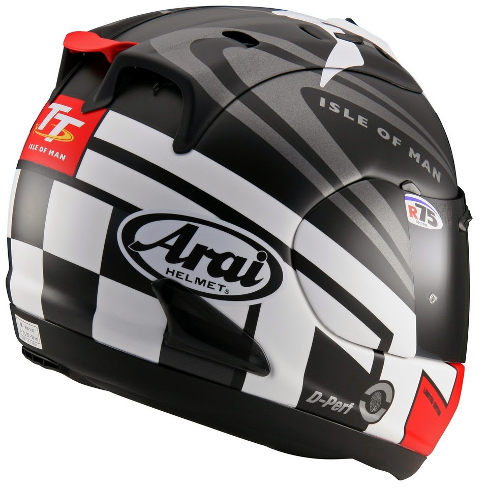 ARAI RX-7 GP ISLE OF MAN 2014 DESIGN