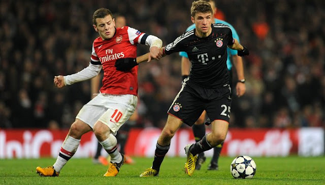 Ver partido Arsenal vs Bayern Munich en vivo