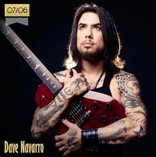 7 de junio | Dave Navarro - @DaveNavarro | Info + vídeos