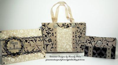 Mocha Morning Designer Series Paper Purse