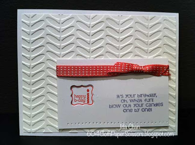 Sale-a-bration card Stampin Up 2013 by Ida Chan