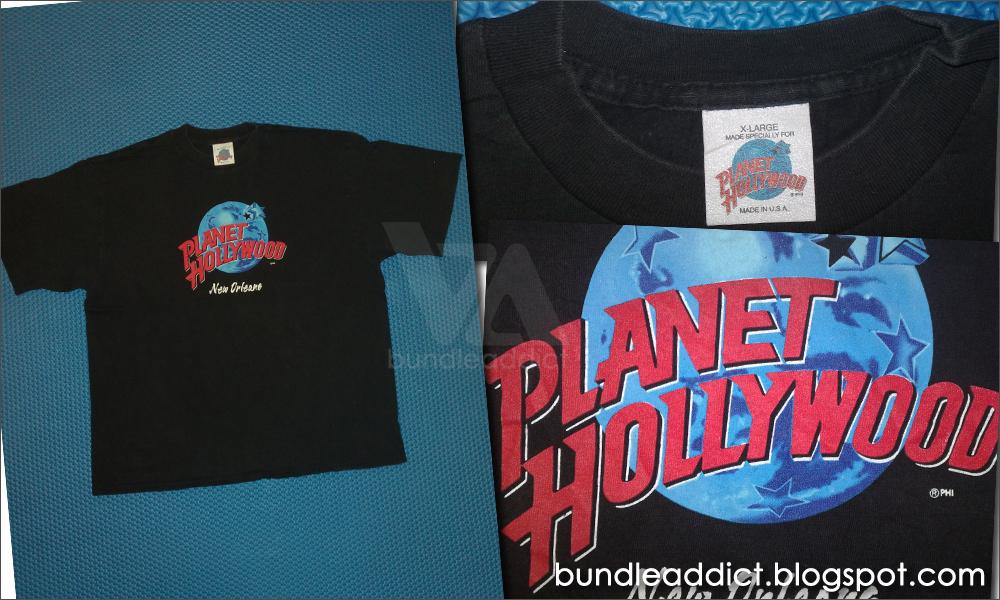Bundle addict pakaian bundle terpilih ba 2783 2 in1 for Planet hollywood t shirt