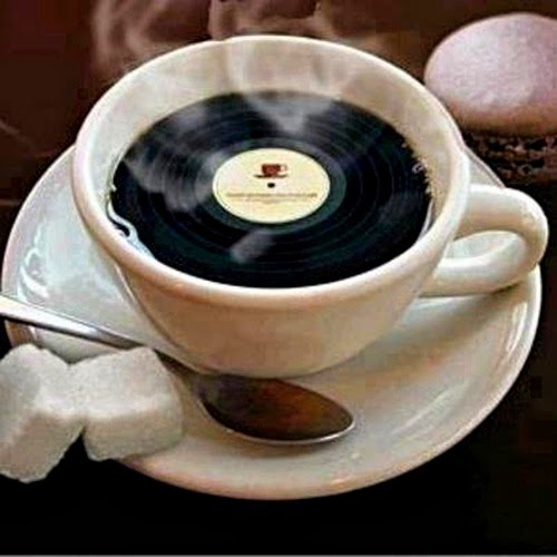 ...black coffee !