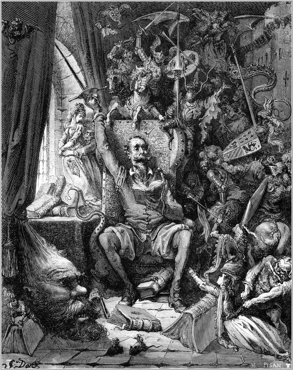 Dom Quixote, Romances, Miguel de Cervantes