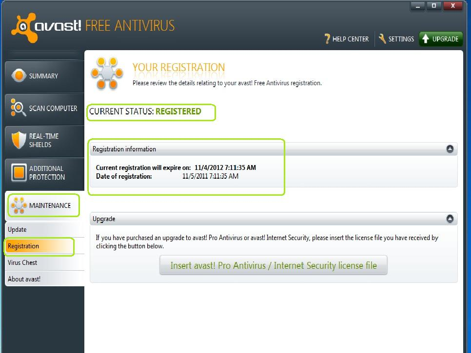 how to find your avast license key