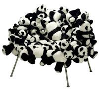 Campana design cadira óssos panda