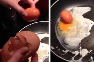 Aneh, Ada Telur Menghasilkan Telur dalam Telur