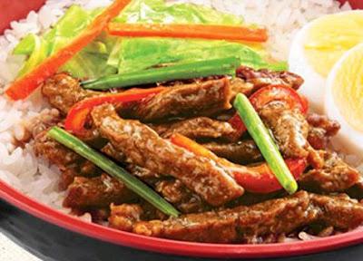 Chowking Menu - Oriental Beef Bowl