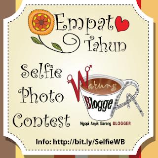 Pengumuman Pemenang #4TahunWB Selfie Photo Contest