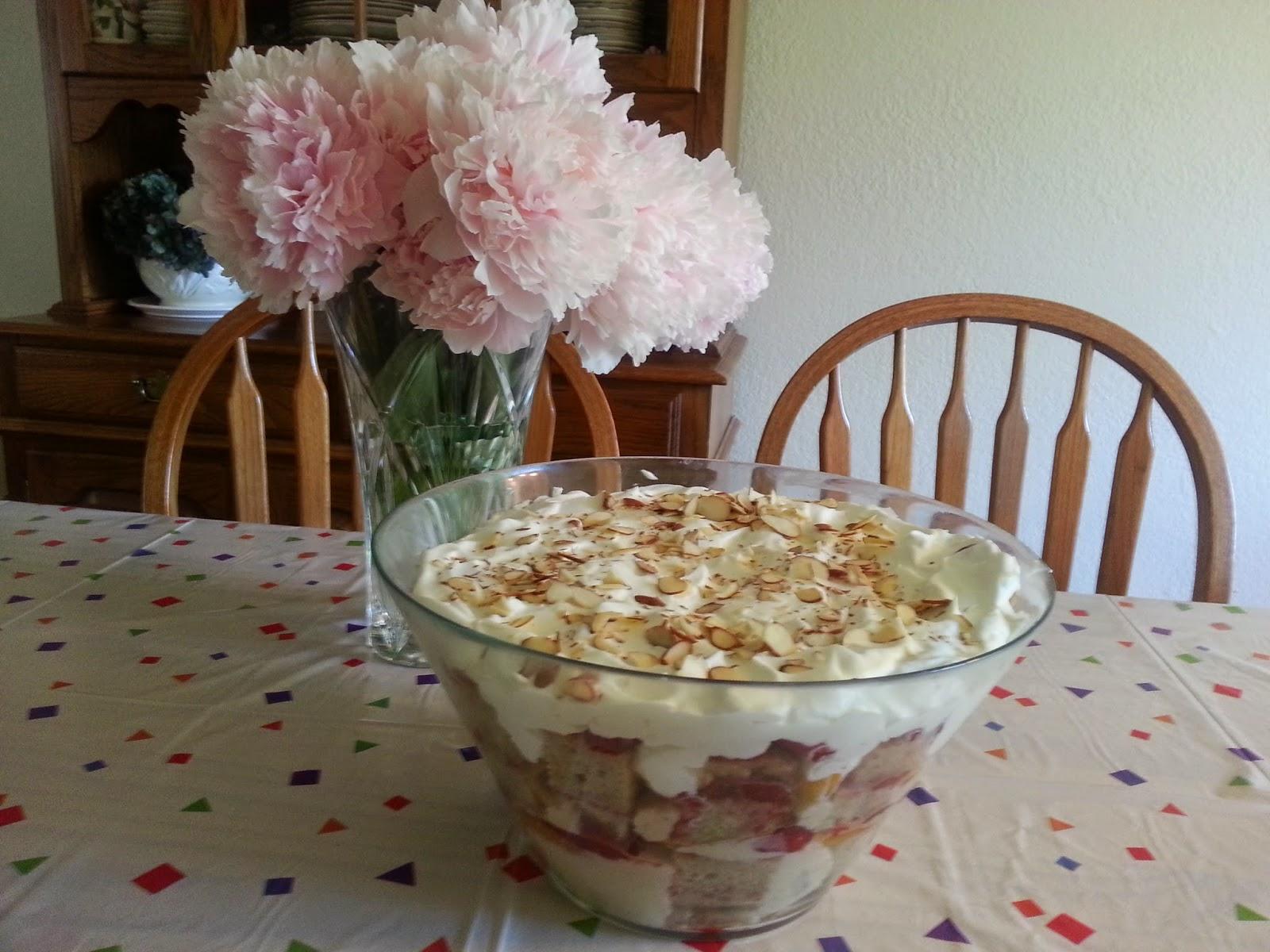 how to make gluten free trifle sponge