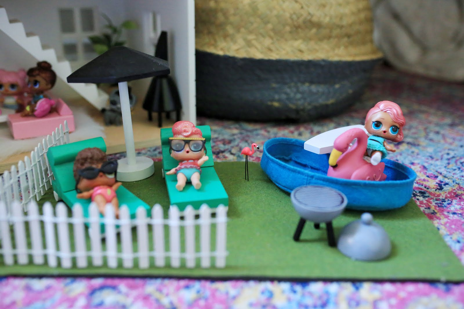 A Little J K Dollhouse Revamp