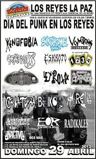 Día del Punk en los Reyez