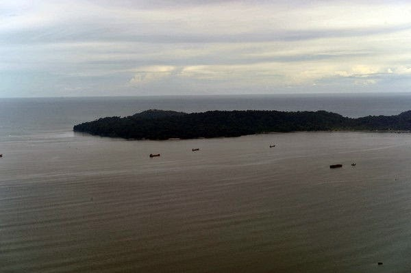 Nusakambangan island, where executions are carried out in Indonesia.