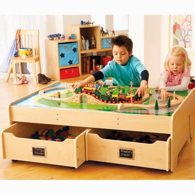 Multi tasking Coffee Play Table Storage