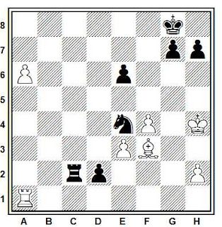 Problema ejercicio de ajedrez número 816: Legky - Kik (Tallin, 1985)