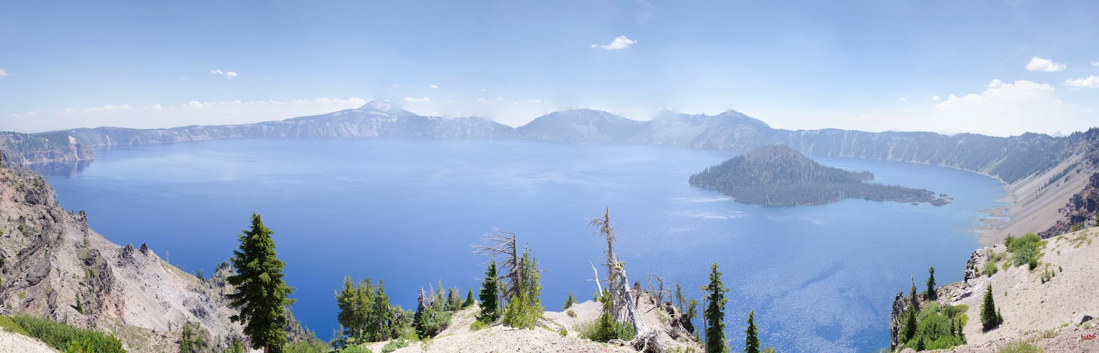 Crater Lake National Park Oregon Merriam Point