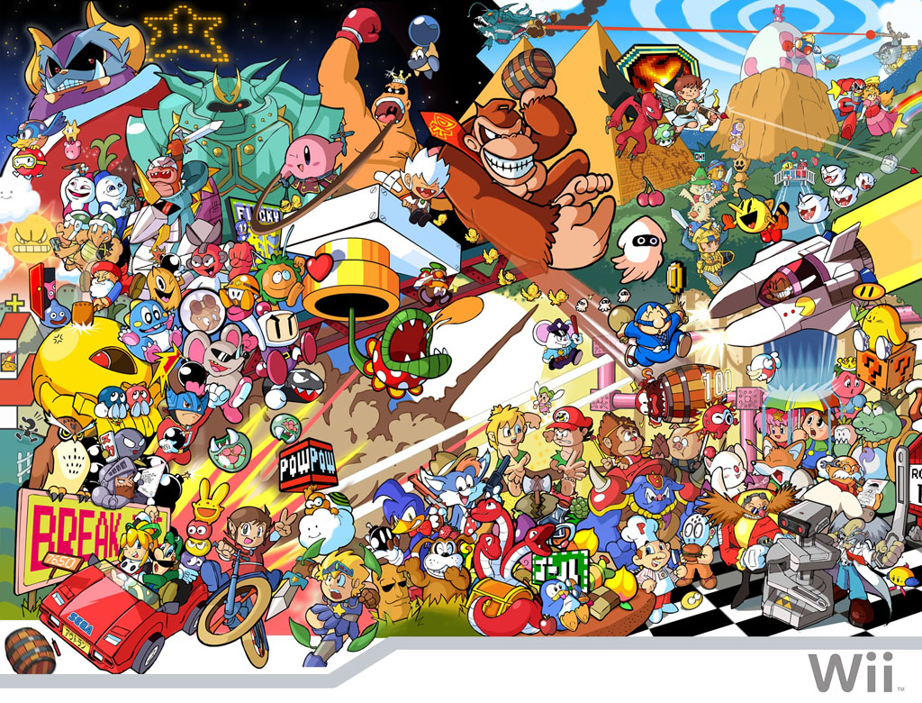 nintendo characters wallpaper - photo #12