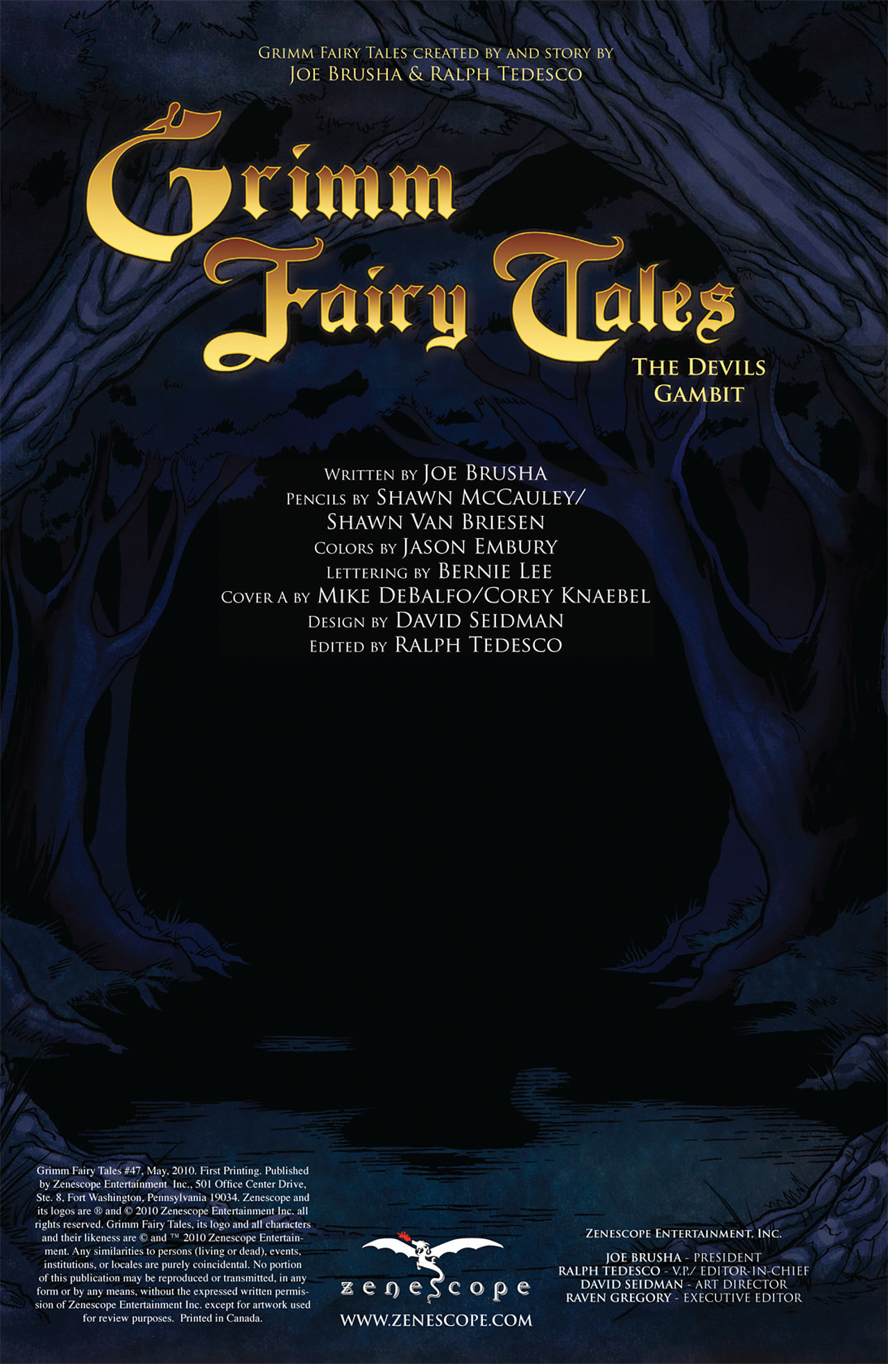Grimm Fairy Tales (2005) Issue #47 #50 - English 2