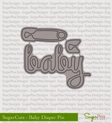 SugarCuts Baby Diaper Pin