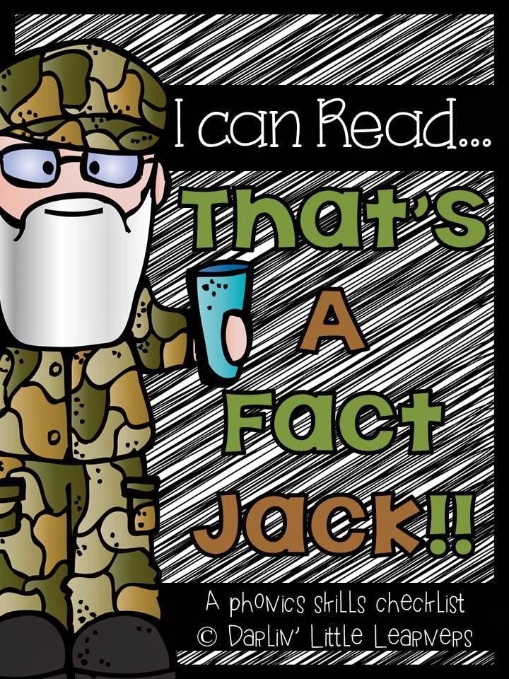 http://www.teacherspayteachers.com/Product/Phonics-Skills-Checklist-I-Can-ReadThats-a-Fact-Jack-1079919