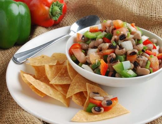 Blackeyed Pea Salsa Fresca