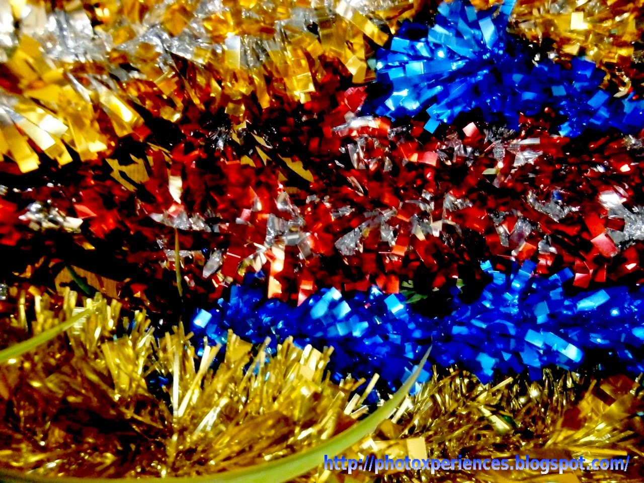 Colored garlands - Guirnaldas de colores