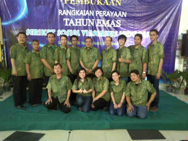 Perayaan Tahun Emas SSV di Kediri 30 Sep 2012