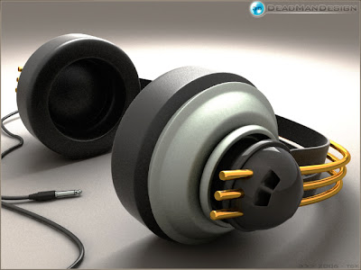 headphone Designs Wallpaper