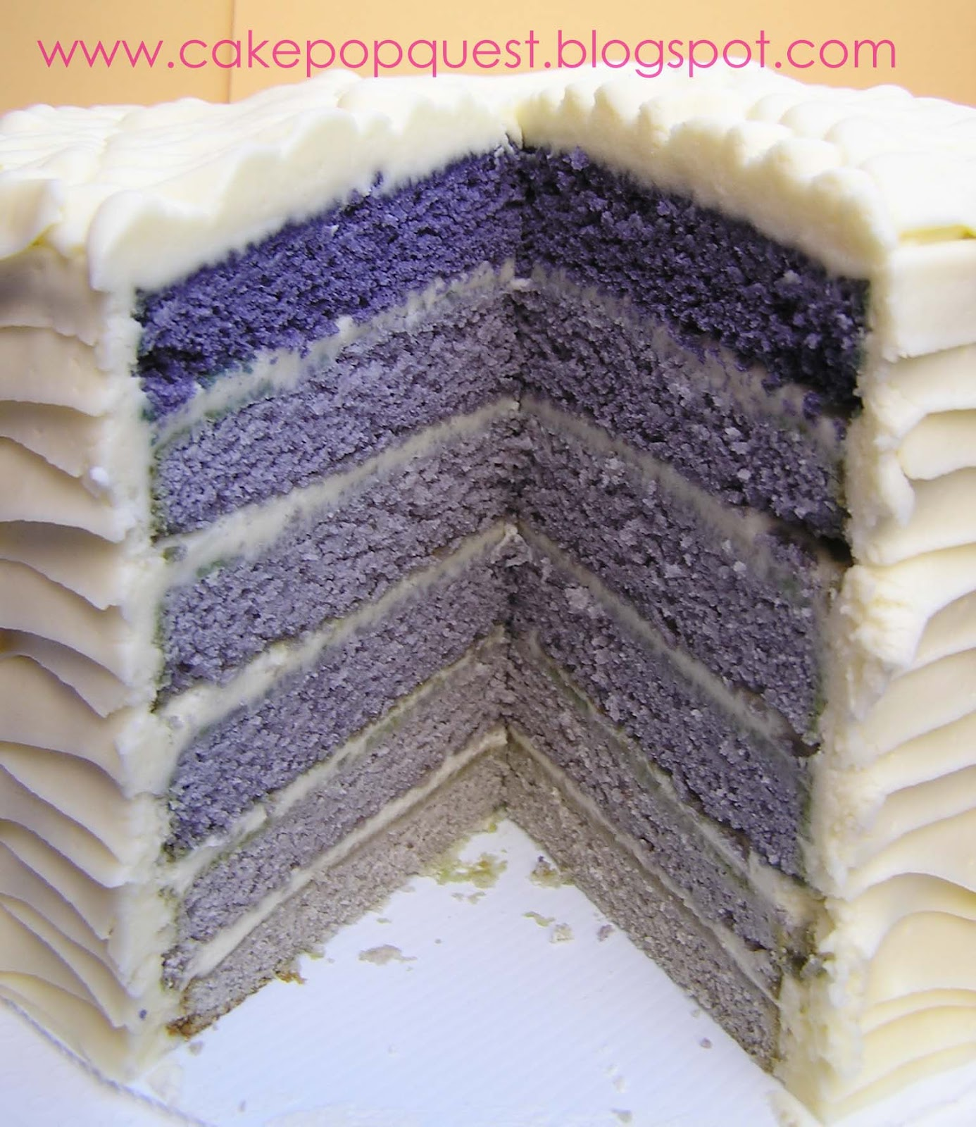 Purple-rific Layer Cake Recipe — Dishmaps