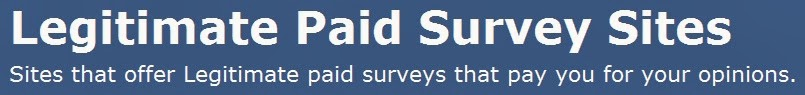 Legitimate Paid Surveys