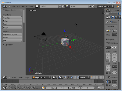 Blender 2.68 Free Download