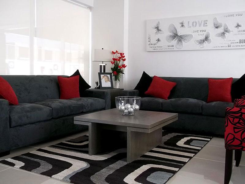 Casas en venta y departamentos casa muestra en for Decoracion de interiores queretaro